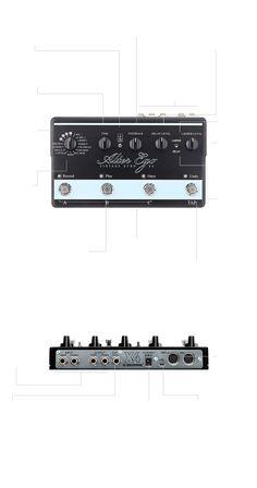 Alter Ego X4 Vintage Echo - TonePrint Enabled Custom Delay Pedal | TC Electronic