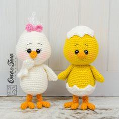 Coco the Little Chicken Amigurumi Crochet Pattern