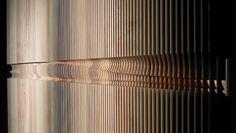 Joseph Walsh Studio equinox_wall_image_gallery_e Lobby Interior, Interior Walls, Interior Design, Design Interiors, Joseph Walsh, Wooden Screen, Eco Architecture, Wall Treatments, Hanging Art