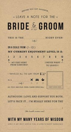 Printables: Fun - The Hot Mess Handbook: A Guide for the Unorganized Bride