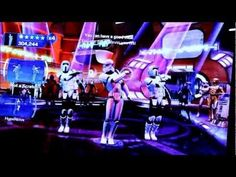 That's right. They didn't stop at making Han Solo dance, now it's stormtroopers and Boba Fett dancing to YMCA! Once again, this was recorded with a 720p potato.