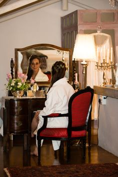 Our beautiful & luxurious Suite is the perfect room for the bride to prepare for the walk down the aisle. Luxurious Honeymoon, Honeymoon Suite, Walking Down The Aisle, Warm, Weddings, Bride, Luxury, Furniture, Beautiful