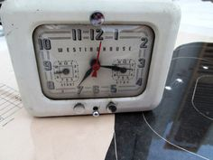 Sweet Vintage Metal Clock & Timer by by ElectricMarigold on Etsy, $33.00