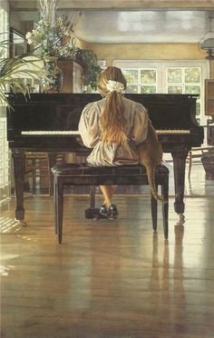 Steve Hanks is recognized as one of the most talented watercolor artists working today. The detail, color and realism of Steve Hanks' paint. Watercolor Artists, Watercolor Paintings, Watercolors, Art Paintings, Photomontage, Oeuvre D'art, American Artists, Artist At Work, Cat Art