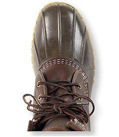"#LLBean: Men's Bean Boots by L.L.Bean, 10"" Shearling-Lined"