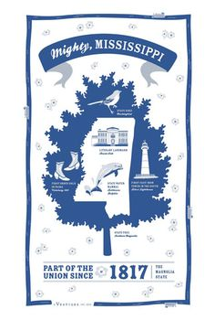 Mississippi State Kitchen Towel – Vestiges