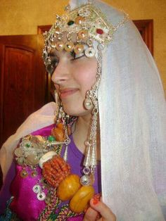 The berber bride in Morocco