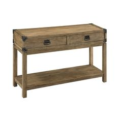 Coast to Coast 67458 2-Drawer Console Table | ATG Stores