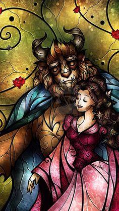 Beauty and the Beast art by mandiemanzano Disney Fan Art, Deco Disney, Disney Beauty And The Beast, Disney And More, Beauty Beast, Disney Dream, Disney Love, Disney Belle, Disney Stuff
