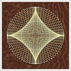 Geometric String Art: Astroid