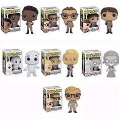 Ghostbusters 2016 Movie Patty Tolan,Abby Yates,Erin Gilbert,Jillian Holtzmann,Gertrude Eldridge,Rowan's Ghost,Kevin Pop! Vinyl Figures Set of 7 http://amzn.to/1Uzlvk1