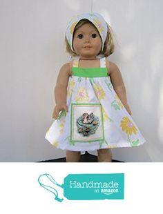 4H Farmgirl Mama & Baby Duck Sundress + Reversible Head Scarf fits American Girl from Pawprint Pals https://www.amazon.com/dp/B06WP1KQYN/ref=hnd_sw_r_pi_dp_gc8MybPBQ8K8M #handmadeatamazon