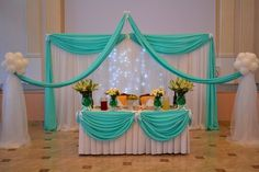 It's hard to tell if this Decor is for a Wedding or other Special Occasion.  Sherwood Event Hall likes it for a Quinceanera, Sweet 16, or Bat Mitzvah!  #headtable #quinceanera #quinceanerabackdrop #atlanta #catering #eventsbygia #barmitzvah #atlantabridal #quinceanera #eventstyling #bridalshower #weddingplanning #eventcompany #corporateevent #sherwoodeventhall #wedding #atlantawedding #atlantacatering  #weddingideas #atlantavenues #partyideas #sweet16 #birthday