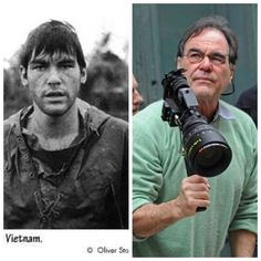 William Oliver Stone (born September 15, 1946) is American film director, screenwriter, & producer. He enlisted in US Army & served from September 1967 through November 1968 with 25th Infantry Division, then with First Cavalry Division, earning a Bronze Star with Combat V for heroism in ground combat; he was wounded twice & received a Purple Heart with an Oak Leaf Cluster. He also received Air Medal for participating in more than 25 helicopter combat assaults & Army Commendation Medal.