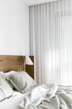 Beautiful long curtains