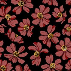 """Grafica di Insunsit: """"Cosmos"""" #pattern #thecolorsoup #abstract #texture #colors #design #style #geometry #insunsit #flower"""