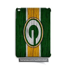 Green Bay Packers on Wood iPad Air Mini 2 3 4 Case Cover