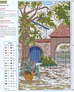 Cross stitch *♥* Point de croix  patio1