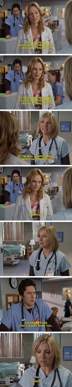 Scrubs | Dr. Molly Clock will ruin your world in a second.