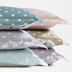 Fundas de almohada con estampado de lunares, CLARISSE La Redoute Interieurs - Textil Hogar
