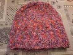 Maglia: cappellino ferri circolari parte 2