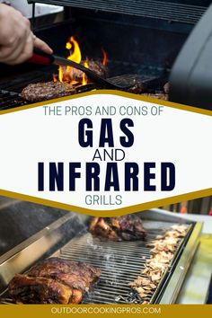 Join us as we talk about Outdoor Cooking Pros' Infrared vs. Gas Grill: A Comparison. Upgrade your outdoor kitchen design by choosing the perfect grill that matches your needs and standards. Jot down some notes as we discuss the pros and cons of infrared and gas grill. Hear expert advice and ideas as we tackle the different features of your preferred outdoor grill. Visit us at outdoorcookingpros.com for more outdoor cooking tips and ideas. Backyard Kitchen, Outdoor Kitchen Design, Best Outdoor Grills, Best Bbq Recipes, Infrared Grills, Perfect Grill, Patio Layout, Outdoor Cooking, No Cook Meals