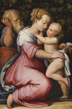 Giorgio Vasari (Italian artist, 1511–1574) The Holy Family