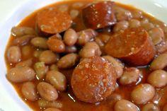 Receta de Judías pintas con chorizo - El Aderezo - Blog de Recetas de Cocina