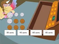 Learning to count coins is a crucial life skill, and essential for second grade math. Help your child learn to identify coins and add them up with this money manipulatives game, as they help Penelope pay for purchases at the cash register. Science Lesson Plans, Free Lesson Plans, Education College, Elementary Education, Learning Resources, Kids Learning, 2nd Grade Math, Second Grade, Money Games