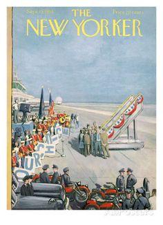 The New Yorker Cover - September 15, 1956