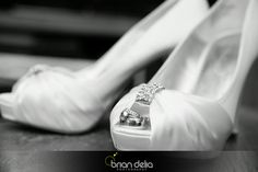 #weddingday #prep #shoes #thering #bling #love #blackandwhitephotography #photography #bdeliaphotography #briandeliaphotography