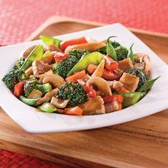 Sauté de porc et légumes à l''asiatique - Soupers de semaine - Recettes 5-15 - Recettes express 5/15 - Pratico Pratiques