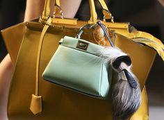 Fendi's Spring 2015 Runway Bags, part one