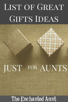 c6d9597793f List of favorite gifts branded just for Aunts for all occassions