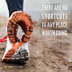 There are no shortcuts - get fit, running, HIIT