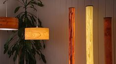 Hauchdünnes Holzfurnier wird durchstrahlt von Licht: Zwei junge Männer bauen Designerleuchten, die Holz zum Strahlen bringen. In ihrer Manufaktur in der Bremer Neustadt erfährt man, dass sie ...