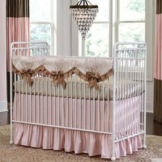 The Baby's dream furniture Willa Convertible Crib is timeless in its beauty. This gorgeous crib with its round spindles and ball feet is perfect in any nursery. The Willa crib converts from a crib to a toddler/youth bed with the included guard rail. Baby Boy Crib Bedding, Baby Boy Cribs, Girl Cribs, Baby Bedding Sets, Nursery Bedding, Girl Nursery, Nursery Ideas, Dream Furniture, Baby Furniture