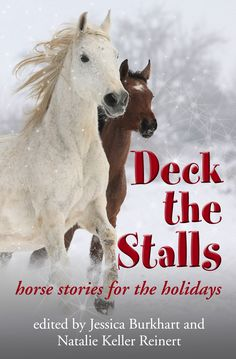It's time for some holiday spirit! I'm excited to announce thatDeck the Stalls,a holiday anthology written especially for horse lovers, is now available for pre-order on Amazon! And n…
