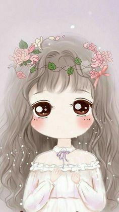 รูปภาพ art, art girl, and baby Kawaii Anime, Kawaii Chibi, Cute Chibi, Kawaii Cute, Anime Chibi, Cute Girl Wallpaper, Kawaii Wallpaper, Cartoon Wallpaper, Kawaii Drawings