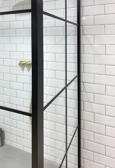 Inspire by design. Shower screens made in the UK Shower Screens, Shower Units, Industrial Style, Showers, Door Handles, Europe, Inspire, Frame, Inspiration