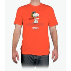 Flying Ace - The Peanuts Movi Tee Charlie Brown - Men T-Shirt