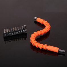$2.09 (Buy here: https://alitems.com/g/1e8d114494ebda23ff8b16525dc3e8/?i=5&ulp=https%3A%2F%2Fwww.aliexpress.com%2Fitem%2FSnake-flexible-Cardan-shaft-Charging-drill-electric-screwdriver-bit-special-universal-shaft-extension-wand-hose-connection%2F32630624650.html ) Snake flexible Cardan shaft Charging drill electric screwdriver bit special-universal shaft extension wand hose connection shaft for just $2.09