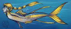 Swordfish mermaid by Sharkie-19