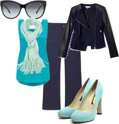 """Azulino"" by launet on Polyvore"