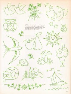Joey's Dream Garden: Golden Hands Encyclopedia of Crafts - embroidery designs freebie