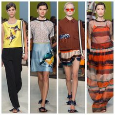 My last four from MSGM #mfw