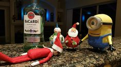 A little too much Bacardi....
