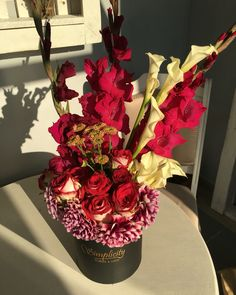 #beautyandthebeast Beauty And The Beast, Vase, Flowers, Home Decor, Decoration Home, Room Decor, Vases, Royal Icing Flowers, Home Interior Design