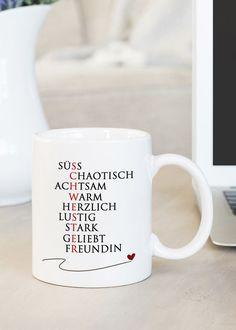 """Warnschild Kaffeebecher /""""18/"""" Geburtstagsgeschenk Kaffeetasse"""