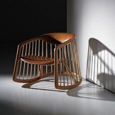 Ross Lovegrove designs first wooden chair to mark Bernhardt Design's 125th anniversary